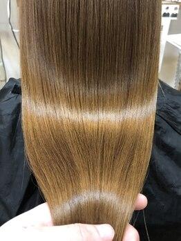 マッシュ キタホリエ(MASHU KITAHORIE)の写真/《使えば使う程美しくなる》話題のレプロナイザーやヘアビューロン取り揃え★ダメージレスで艶やかな髪へ♪
