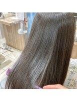 アッシュ 日暮里店(Ash)cmcコスメ縮毛矯正、ナチュラルストレート、髪質改善