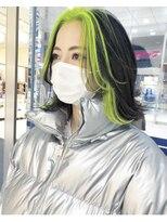 モッズヘア 仙台PARCO店(mod's hair)フェイスフレーミング(キミドリ)