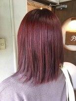 ヘアーメイク プリュム(Hair make Plume)グラマラスレッド