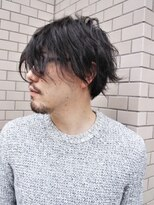 ヘアーライズ 池袋東口店(hair RISE)三つ編みパーマメンズ