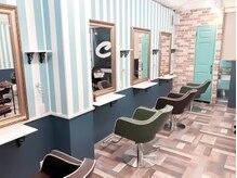 クオレヘアー 梅田店(Cuore hair)の雰囲気(おしゃれな雰囲気♪女性目線でこだわってみました♪)