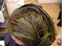 ヘアスタジオ ルピナス(Hair studio lupinus)の雰囲気(髪や頭皮に優しいヘナカラーをご用意♪)