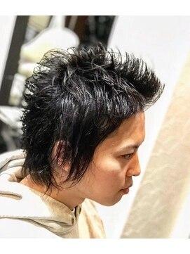 オムヘアーツー (HOMME HAIR 2)#ウルフカット#スパイキー#ハイレイヤーウルフ#Hommehair2nd櫻井