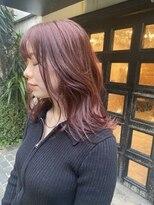 ブロック ジャポン(bloc japon)ブリーチなしのピンクカラー