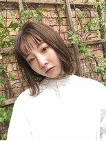 キアラ(Kchiara)シアーベージュレイヤーミディアムkchiara福岡天神川野直人