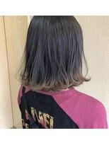 ヘアー コパイン(HAIR COPAIN)[熊本/中央区/上通り/並木坂] すそベージュ