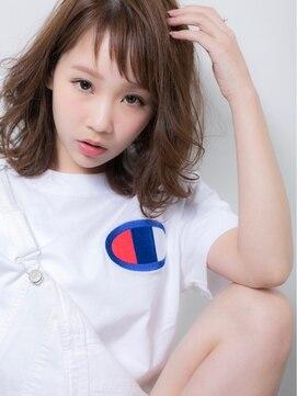 ユーフォリア ハラジュク(Euphoria HARAJUKU)小顔ベビーバングとハネで魅せる☆今ドキ抜け感タンバルモリ☆