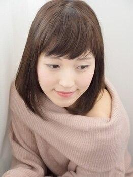 COCO美の写真/【白髪染めオーガニック全体カラー¥4180→¥3480】地肌と髪のダメージを最小限に抑えた優しいカラーが魅力♪