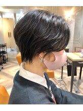 ラボヌールヘアーロア 草加店(La Bonheur hair roi)くびれハンサムショート