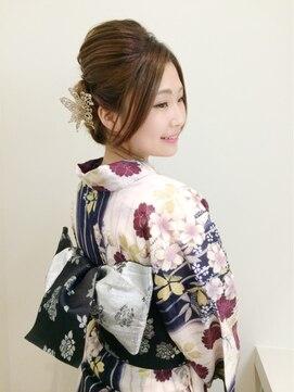 リラシス(RELASIS)【RELASIS】浴衣×和装ヘアセット ¥4,000