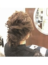サンゴウーロク フォーメイクアップウィズヘアー(356 for make up with hair)ギブソンタック