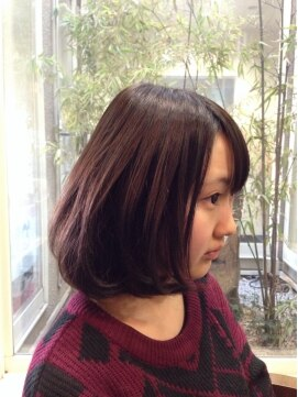 ガーデン ヘアー ワーク(garden hair work)ふんわり柔らかい、愛されボブ。