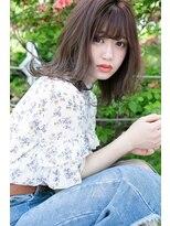 夏のモテ髪* ピンクグレージュ×ネオウルフ erina