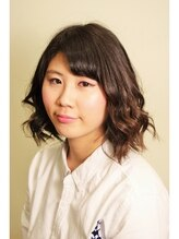 ベンケイ(HAIR AVENUE benkei)くせ毛風フェミニンボブ