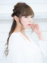オーブ ヘアー アーチ 赤羽店(AUBE HAIR arch by EEM)万能♪三つ編みハーフアップ