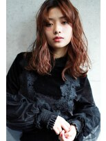 ラフィス ヘアーピュール 梅田茶屋町店(La fith hair pur)【La fith】 無造作ウェーブセミディスタイル