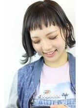アオゾラヘアー フジサキグウ(AOZORA HAIR FUJISAKIGU)#ショートボブ#地毛風グレー