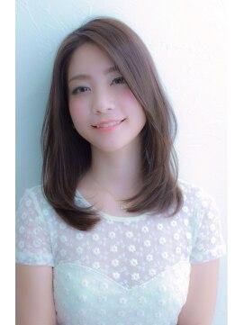 ノズ 渋谷公園通り店(Noz)【Noz】カットだけで可愛い!小顔に見えるセミロング