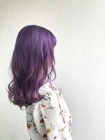 ヘアメイク オブジェ(hair make objet)ハイトーンパープル