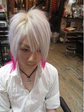 髪型 ホワイト