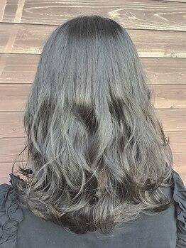 プログレス つくば店(PROGRESS by ヂェムクローバーヘアー)の写真/【大人女性への上質カラー】髪へのダメージを最小限に抑えて艶髪に♪オーガニックカラー取り扱い有♪