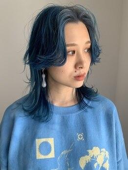 フィル(fil)の写真/3D/ハイライト・ローライト/インナーカラーなどあなたの髪を彩るカラーデザインをご提案!!