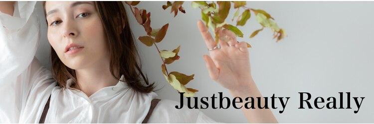 ジャストビューティー リアリー(justbeauty Really)のサロンヘッダー