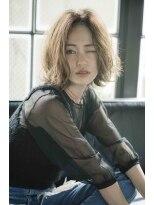 ミンクス 原宿店(MINX)【似合わせカット】大人女子×ヴェールウェーブ×ブルージュ