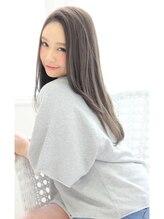 フェリシータ 岡本店(felicita)さら艶ロングストレート★イルミナグレージュ!