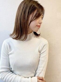 グリーク(GREEK)の写真/1人1人の髪質・毛流れを見て様々なアドバイスを行うGREEK☆あえてくせ毛を活かすヘアまでご提案!【北小金】