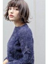 ネイヴィル(navile)☆デザインカラー×切りっぱなしボブディ☆