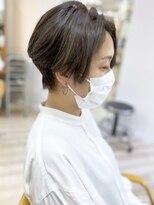 モリオフロムロンドン成増3号店【morio成増/ムラマツ】大人ショート ナチュラルハイライト