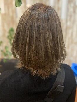 シュガー(Sugar)の写真/30,40代のファーストグレイカラーはカラー技術が自慢のSugarで!年々増える髪のお悩みに丁寧に寄り添います!