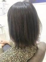 ベイジヘアークチュール(BEIGE hair couture)大人かわいい外ハネレイヤーボブ