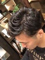 オムヘアーツー (HOMME HAIR 2)直毛さんお悩み・コテパーマアップバング#Hommehair2nd櫻井