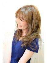 ヘアドレッサー ミアン(HAIRDRESSER MIEN)温感アッシュ☆ヌーディーデザインカラー【稲毛】