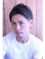 ★hair LOGIA★  〇定番メンズツーブロ前髪上げ