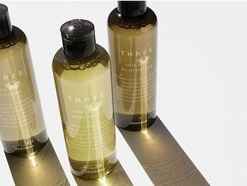 エイゾー(EIZO)の写真/女性に大人気の[THREEスパ]アロマの香りに包まれた個室空間×濃密泡シャンプーで最上級の癒しをご提供♪
