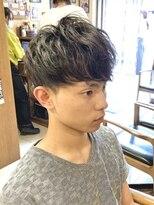 オムヘアーフォー(HOMME HAIR 4)ソフトスパイラルパーマ【HOMME HAIR4 KESHiRO】