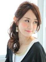 ショコラナンバ(Chocolat NAMBA)エフォートレス大人女性☆ネイビーブラック☆ハーフアレンジ