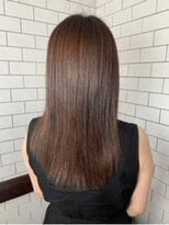 レガーレ(Legare)[髪質改善]酸性ストレートセミロング