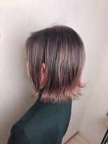 リリー ヘアーデザイン(Lilly hair design)ピンクアッシュ