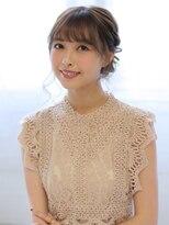ヘアリゾート バレンタイン(hair+resort valentine)結婚式のお呼ばれにおすすめ☆アップスタイル