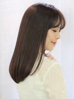ヘアリゾート ブーケ(hair+resort bouquet)【アッシュブラウン×ナチュラルストレート】
