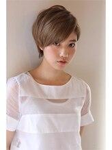 モッズ ヘア 駒沢店(mod's hair)大人可愛いクールショート【SALLY 2008 S/S】