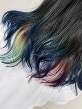 プラスアルファ(Hair design +α)富岡さんカラー 羽織カラーも入れました