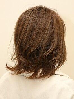 ヘアーサロン アドア(Hair Salon adoa)の写真/丁寧にカウンセリングを行い再現性の高いスタイルをご提案☆お家でも簡単にスタイリングできる優秀ヘアに◎