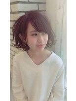 クッキー ヘアーアンドメイク(COOKIE Hair&Make)【COOKIE】外ハネairyボブ