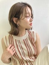 リブレ(LIBRE+hp)【LIBRE恵比寿】シースルーバング×くびれヘア